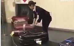 الصورة: فيديو مذهل .. كيف تعامل حقائب المسافرين في اليابان؟