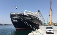 الصورة: سفينة «إليزابيث 2» تتحول إلى فندق عائم في دبي