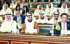 الصورة: الإمارات تدعو إلى محاربة الارهاب والتصدي للتدخلات الخارجية