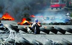 الصورة: 7 شهداء ومئات المصابين في جمعة «الإطارات»