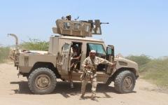 الصورة: تحرير جبل المسعودة ومقتل عشرات الانقلابيين في البيضاء