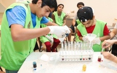 الصورة: الصورة: المخيمات الطلابية في العين مساحة لتنمية المهارات واستكشاف الهوايات