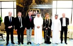 الصورة: بحث التعاون بين صحة دبي ومؤسسات الأمم المتحدة المختصة
