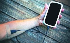 الصورة: قياس تدفق الدم لديك بالهاتف الذكي
