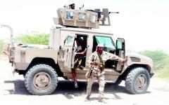 الصورة: الشرعية على مشارف حصون الحوثي في صنعاء