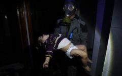 """الصورة: """"مجزرة دوما"""" ترفع عدد القتلى إلى 150"""
