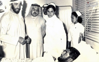 الصورة: زايد والصحة.. المرتبة الأولى منذ عشرين عاماً!