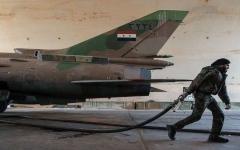 الصورة: روسيا تكشف الجهة التي قصفت مطار التيفور السوري