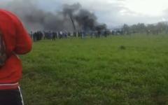 الصورة: مقتل 26 من جبهة البوليساريو في تحطم الطائرة الجزائرية