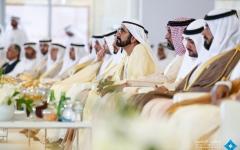 الصورة: محمد بن راشد يشهد حفل تخريج الدفعة 37 من طلبة جامعة الإمارات في العين
