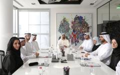 """الصورة: محمد بن راشد يطلق استراتيجية الإمارات للتعاملات الرقمية """"بلوك تشين"""""""