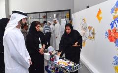 """الصورة: حمدان بن محمد يوجه بتسريع تحقيق مستهدفات خطة """"دبي 2021"""""""