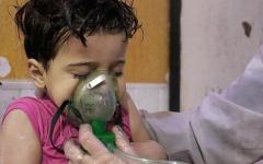 الصورة: أميركا: عينات دم ضحايا هجوم دوما تؤكد وجود الكلور وغاز الأعصاب