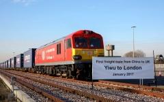 الصورة: تسيير أول قطار لنقل البضائع يربط بين الصين والنمسا