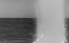 الصورة: فيديو مذهل لصاروخ أميركي ينطلق من البحر لضرب سوريا