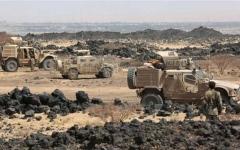 الصورة: قوات الشرعية تقترب من مسقط رأس عبدالملك الحوثي في صعدة