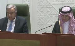 الصورة: وزير الخارجية السعودي: عرضنا إرسال قوات من التحالف إلى سوريا