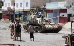الصورة: التحالف: صواريخ الحوثي هستيريا الرمق الأخير