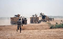 الصورة: القوات العراقية تطهر 2000 كم من صحراء الأنبار