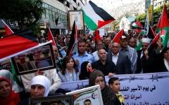 الصورة: الاحتلال يقمع فعاليات «يوم الأسير الفلسطيني»