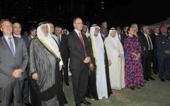 الصورة: نهيان بن مبارك يحضر احتفال السفارة البريطانية