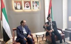 الصورة: حاكم عجمان يتفقّد مبنى سفارة الإمارات الجديد في لندن