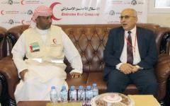 الصورة: الإمارات تنسق الجهود مع اللجنة العليا للإغاثة في اليمن