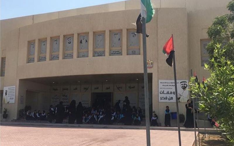 الصورة: إخلاء 730 طالبة من مدرسة في رأس الخيمة