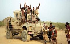 الصورة: الجيش اليمني يتقدم في محور الشريجة الراهدة