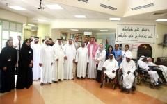 الصورة: القطامي يوجّه المختصين في «صحة دبي» بتوفير العلاج المائي لكبار السن