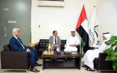 الصورة: جامعة الفلاح تبحث سبل التعاون مع المكتب الإعلامي لحكومة الشارقة