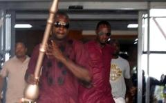 الصورة: نيجيريا تستعيد صولجاناً سُرق من البرلمان