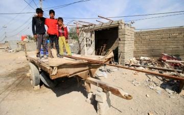 الصورة: عودة 3.5 ملايين نازح عراقي إلى مناطقهم المحررة