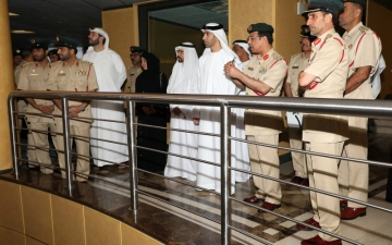 الصورة: الزيودي يطّلع على تجربة شرطة دبي في الابتكار والتنمية