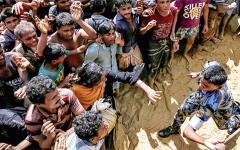 الصورة: أوضاع مخيمات الروهينغا تقلق ميانمار