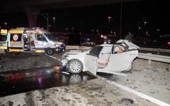 الصورة: وفاة شخص وإصابة 8 بتصادم بين 4 مركبات في أبوظبي