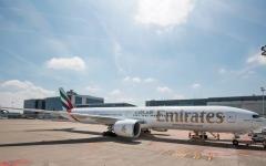 """الصورة: طيران الإمارات تفوز بـ4 من """"جوائز السفر العالمية للشرق الأوسط 2018"""""""