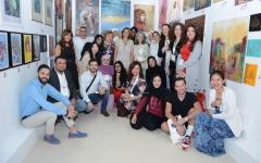 الصورة: 50 فناناً عالمياً يشاركون في «فنون العالم دبي»