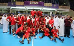 الصورة: شباب الأهلي دبي يتوّج بكأس اليد