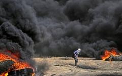 الصورة: 5 شهداء في الجمعة الرابعة لمسيرات العودة