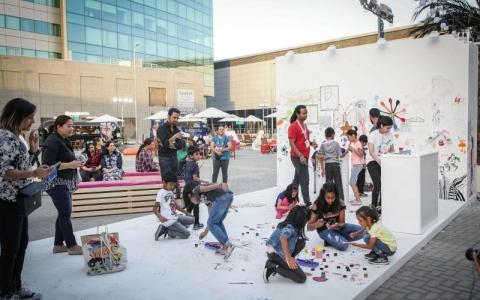الصورة: فنون العالم دبي يختتم فعالياته اليوم