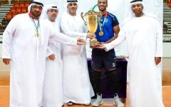 الصورة: النصر بطل كأس الشباب للكرة الطائرة