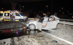 الصورة: وفاة و8 إصابات بتصادم 4 مركبات في أبوظبي