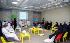 الصورة: الصورة: «مجلس السعادة» في عجمان.. الريادة وصقل المهارات