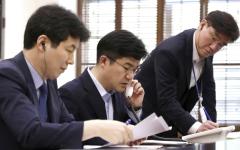 الصورة: تشغيل الخط الساخن بين زعيمي الكوريتين