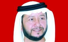 الصورة: سلطان بن زايد يعزي أمير الكويت بوفاة فاضل دعيج الصباح