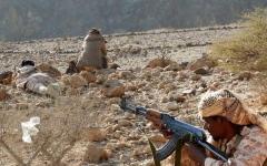 الصورة: قوات الشرعية تسيطر على جبل استراتيجي في البيضاء
