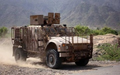 الصورة: أسر قائد حوثي.. وتقدم كبير للقوات الشرعية بالبيضاء