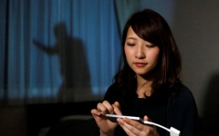 """الصورة: """"ظل رجل"""" مثل مصري يتحول إلى واقع في اليابان"""