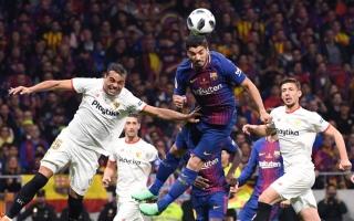 برشلونة يكتسح إشبيلية ويتوج بطلا لكأس اسبانيا